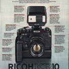 "1980 Ricoh Camera Ad ""KR-10 Automatic"""