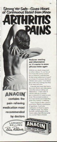 "1963 Anacin Ad ""Strong Yet Safe"""