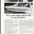 "1965 Evinrude Ad ""your old motor"" ~ (model year 1965)"