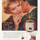 """1958 Schick Shaver Ad """"The best reason"""""""