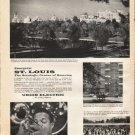 "1961 St. Louis Commerce Ad ""Energetic St. Louis"""