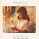 "1966 De Beers Diamond Ad ""A message of love"""