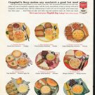 """1961 Campbell's Soup Ad """"sandwich lunches"""""""