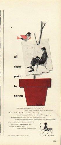 """1948 Staffordwear Robe Ad """"all signs """""""