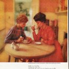 "1963 Pan-American Coffee Bureau Ad ""rich and warm"""