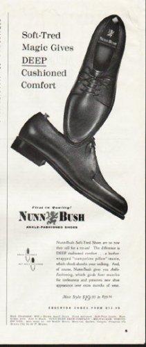 """1964 Nunn-Bush Ad """"Soft-Tred Magic"""""""
