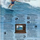 "1980 RCA Television Ad ""shades of blue"""