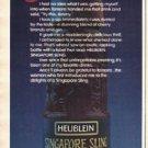 "1980 Heublein Ad ""Sling"""