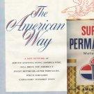 "1961 American Motor Oil Ad ""The American Way"""