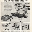 """1961 Westinghouse Ad """"fry pan that broils"""""""