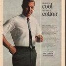 """1965 Van Heusen Ad """"the look is cool"""""""
