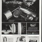 "1965 General Electric Ad ""get the coffee maker cleaner"""
