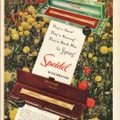 "1948 Speidel Watchbands Ad ""They're Smart"""