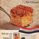 "1961 Pillsbury Ad ""broil-on toppings"""