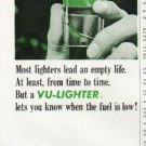 "1964 Scripto Lighter Ad ""Vu-Lighter"""