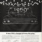 """1965 Volkswagen Ad """"A new VW"""""""
