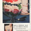 "1961 Quality Chekd Dairy Products Ad ""Rainbow Sparkle"""