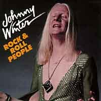 Blues) Johnny Winter Rock & Roll People VG+ '88 Cassette