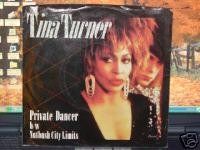 R&B Rock) Tina Turner Private Dancer New op '84 Promo Pinback