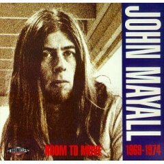 Blues) John Mayall Room To Move New op Promo Pinback
