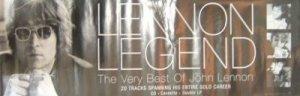 Beatles) John Lennon Legend Very Best Of Mint op '98 Promo Poster