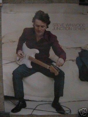 Traffic) Steve Winwood Junction Seven op '97 Promo Poster