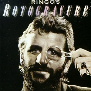 Beatles) Ringo Starr Rotogravue Mint op '76 LP Cover.