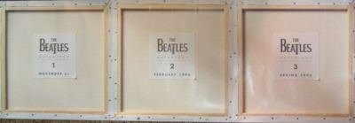 Beatles Anthology 1-2-3 Release New op '95 Promo Poster
