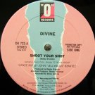 Divine Shoot Your Shot New op DJ Dance 12""