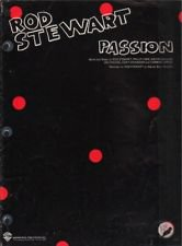 Faces) Rod Stewart Passion VG+ op '80 Sheet Music