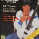 1978 Guitar Player Magazine Bill Wyman Rolling Stones Bassist