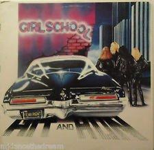 Girlschool Hit & Run VG+ op '81 Canada LP