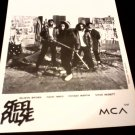 Reggae) Steel Pulse Victims '91 Reggae Press Kit + Photo
