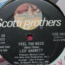 Pop) Leif Garrett Feel The Need VG+ 1978 Promo 12""