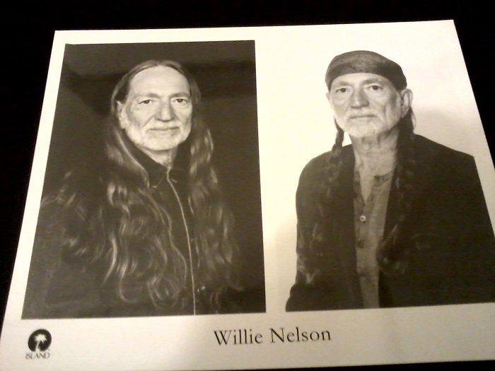 Country) Willie Nelson Spirit New '96 Press Kit + Photo