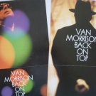 Them) Van Morrison Back On Top New op '99 Long Promo Poster.