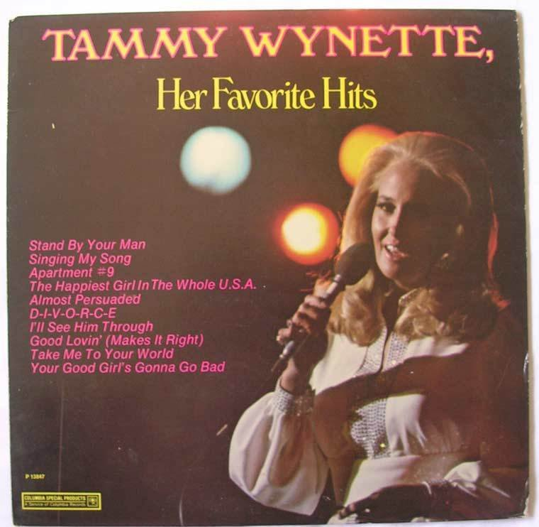 Country) Tammy Wynette Her Favorite Hits Sealed '77 LP