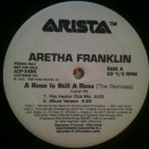 "R&B DJ Dance) Aretha Franklin A Rose... NEW '98 PS 2 12"" Remix Set"