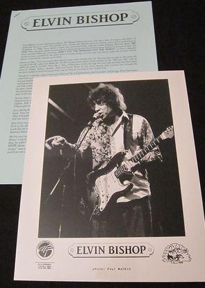 Blues) Elvin Bishop Bossman Mint op '99 Press Kit & Photo