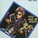 Billy Joel You May Be Right Original '80 Color PS Sheet Music