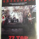 Blues) ZZ Top Breakaway Mint op '94 PS Sheet Music