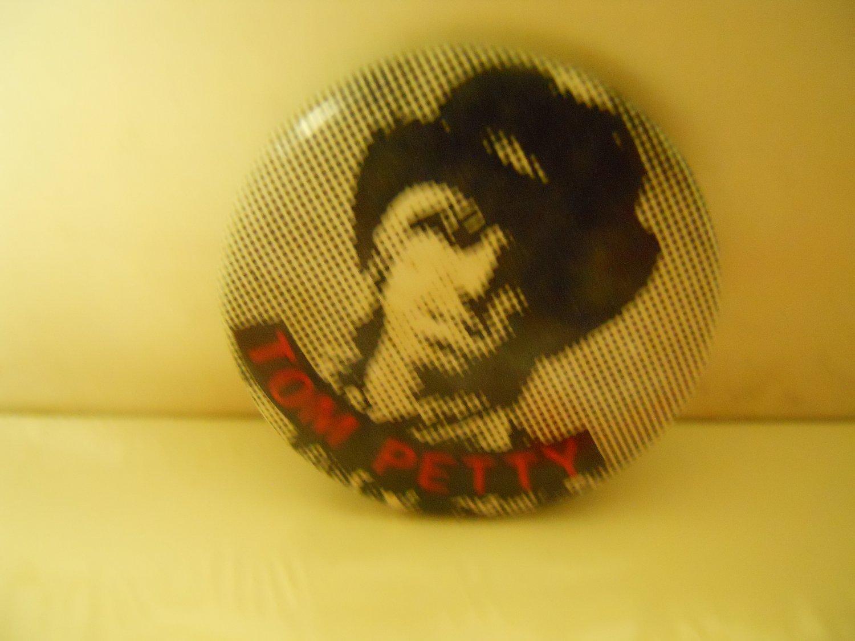 Tom Petty Head Shot '80s MCA Promo Pinback