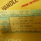 julian cope 1991 marquee club nyc EX used ticket stub #1