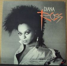 "Supremes R&B) Diana Ross Swept Away Mint op '84 12"" PS Cover/No Record"