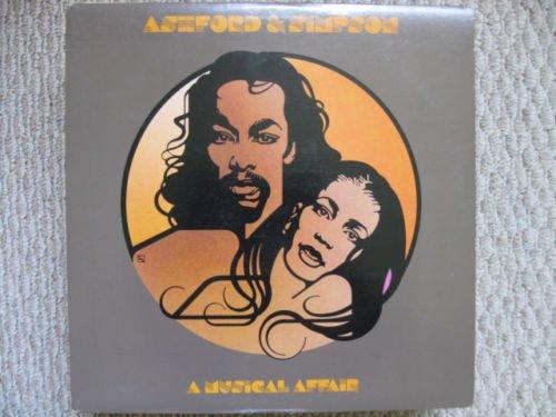 R&B) Ashford & Simpson A Musical Affair VG+ op '80 LP