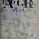 pop) madonna bad girl original VG+ 1992 ps sheet music folder