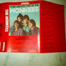 pop davey jones) more monkees greatest hits EX cassette