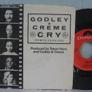 10cc) godley & creme cry mint ps 45