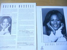 R&B) Brenda Russell Soul Talkin' New '93 Custom Press Release