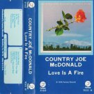 Fish Folk Rock) Country Joe Love Is A Fire Sealed Cassette